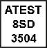 certyfikat atest 8sd 3504