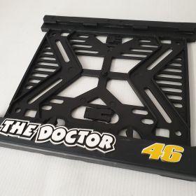 ramki do tablic motocykl - uchwyty na tablice rejestracyjne - 46 doctor