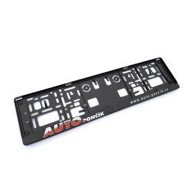 Referencje ramki do tablic rejestracyjne - Auto Pončík 2D
