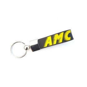 Breloki skórzane i gumowe z logo - referencje - AMC Trans
