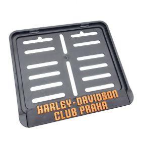 ramki do tablic motocykl - uchwyty na tablice rejestracyjne - Harley Davidson Praha