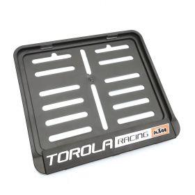 ramki do tablic motocykl - uchwyty na tablice rejestracyjne - Torola Racing KTM