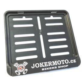 ramki do tablic motocykl - uchwyty na tablice rejestracyjne - Joker moto