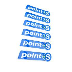 Naklejki 3D - naklejki samochodowe - Point S