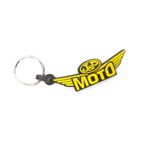 Breloki skórzane i gumowe z logo - referencje - JP moto