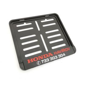 ramki do tablic motocykl - uchwyty na tablice rejestracyjne - Honda Havirov