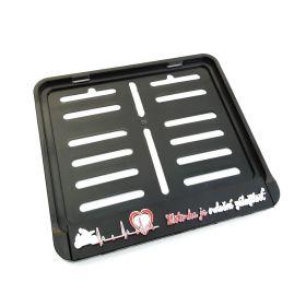 ramki do tablic motocykl - uchwyty na tablice rejestracyjne - Srdecni zalezitost