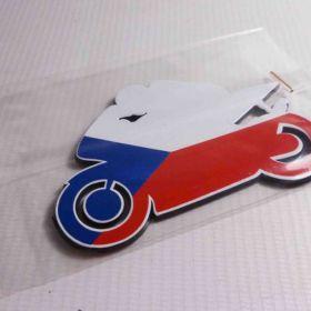 Naklejki 3D - naklejki samochodowe - ČR Moto