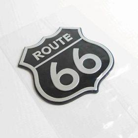 Naklejki 3D - naklejki samochodowe - Route 66