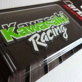 Naklejki 3D - naklejki samochodowe - Kawasaki