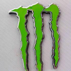 Naklejki 3D - naklejki samochodowe - Monster Energy