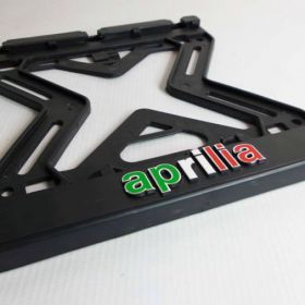 ramki do tablic motocykl - uchwyty na tablice rejestracyjne - Aprilia