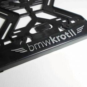 ramki do tablic motocykl - uchwyty na tablice rejestracyjne - BMW Krotil