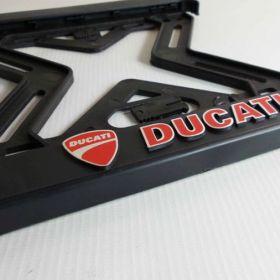 ramki do tablic motocykl - uchwyty na tablice rejestracyjne - Ducati
