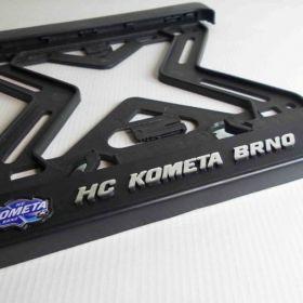 ramki do tablic motocykl - uchwyty na tablice rejestracyjne - HC Kometa Brno
