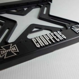 ramki do tablic motocykl - uchwyty na tablice rejestracyjne - Choppers
