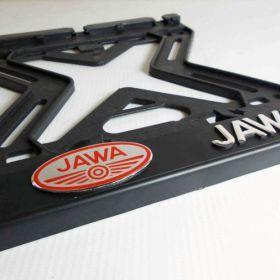 ramki do tablic motocykl - uchwyty na tablice rejestracyjne - Jawa