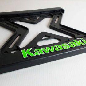 ramki do tablic motocykl - uchwyty na tablice rejestracyjne - Kawasaki