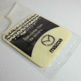Perfumy samochodowe - referencje - Mazda