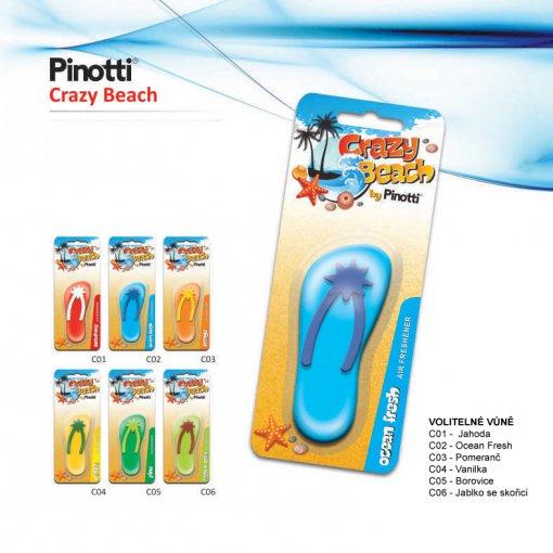 Odświeżacz w żelu - Pinotti Crazy Beach