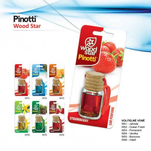 Odświeżacz perfum Pinotti Wood Star