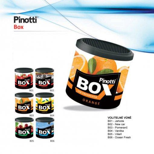Odświeżacz powietrza w pudełku - Pinotti BOX