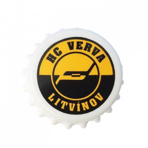 Otwieracz z magnesem z motywem z logo HC Litvínov